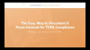 The Easy Way to Document & Prove Consent for TCPA Compliance