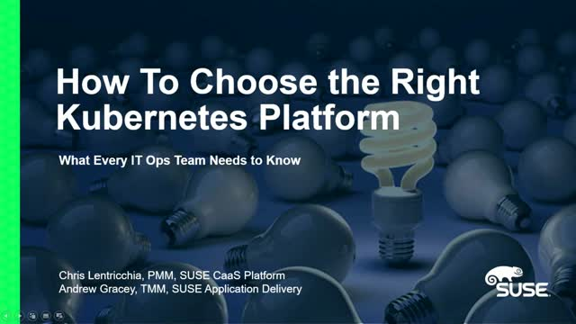 The Buyer's Guide to Kubernetes (1/4): What Every IT Ops Team Needs to Know