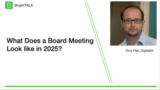 What Does a Board meeting look like in 2025?