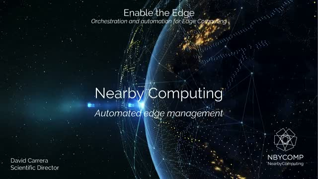 Enable the Edge: Orchestration and Automation for Edge Computing