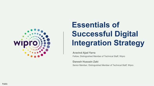 Essentials of a Successful Digital Integration Strategy