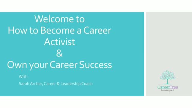 How to Become a Career Activist and Own Your Career Success in 2020