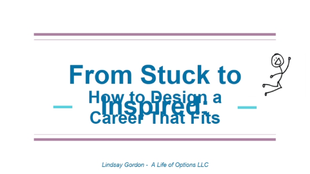 From Stuck to Inspired: How to Design a Job That Fits