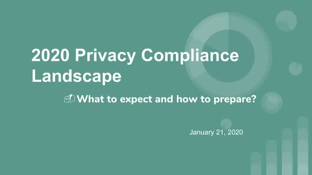What to expect in 2020: Regulatory Compliance in Privacy & Cybersecurity