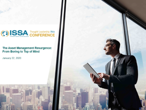 ISSA Thought Leadership Series: The Asset Management Resurgence