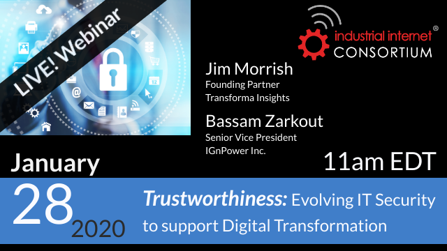 Trustworthiness: Evolving IT Security to Support Digital Transformation