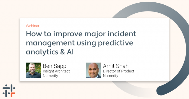 How to Improve Major Incident Management Using Predictive Analytics and AI
