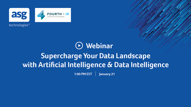 Supercharge Your Data Landscape with Artificial Intelligence & Data Intelligence