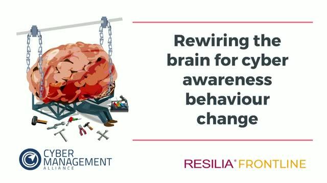 Rewiring The Brain For Cyber Awareness Behaviour Change