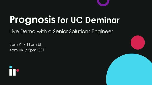 Prognosis for UC Live Demo [February 2020]