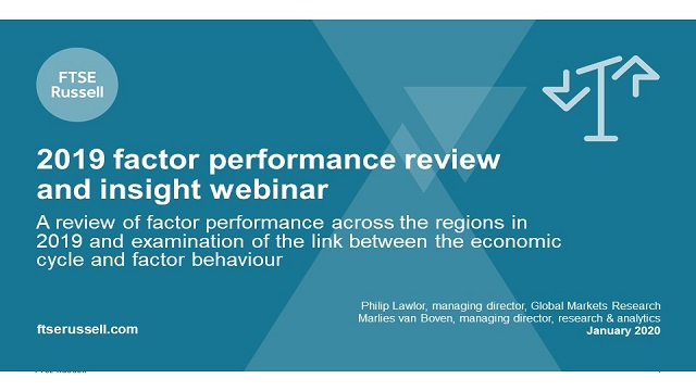 2019 Factor Performance Review and Insight