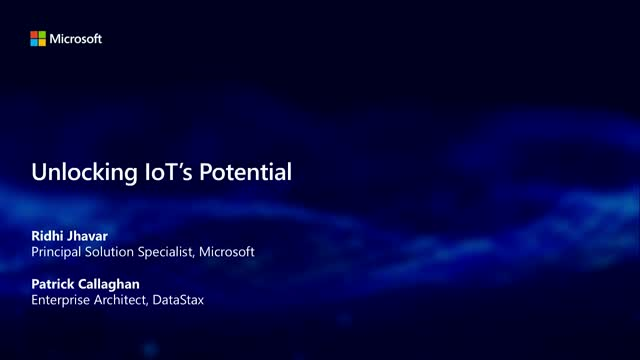 IoT Solutions for Delivering Speed and Scale