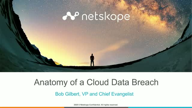 Anatomy of a Cloud Data Breach