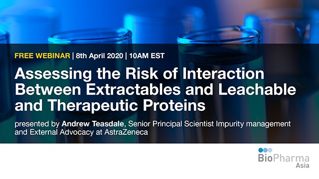 Assessing the Risk of Interaction Between Extractables and Leachable and Ther...