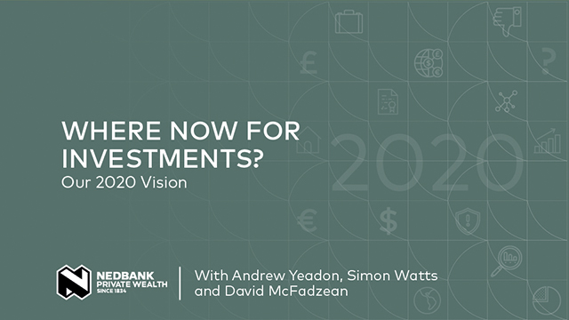 Where now for investments? Our 2020 vision
