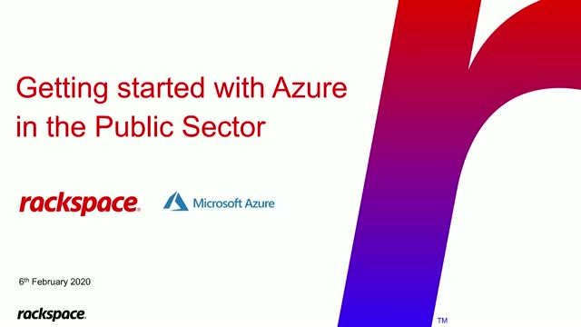 Get started with Azure in Public Sector