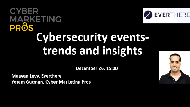 Cybersecurity events- trends and insights