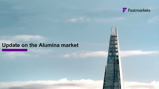 The evolution of the alumina market