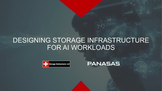 Designing Storage Infrastructures for AI Workloads