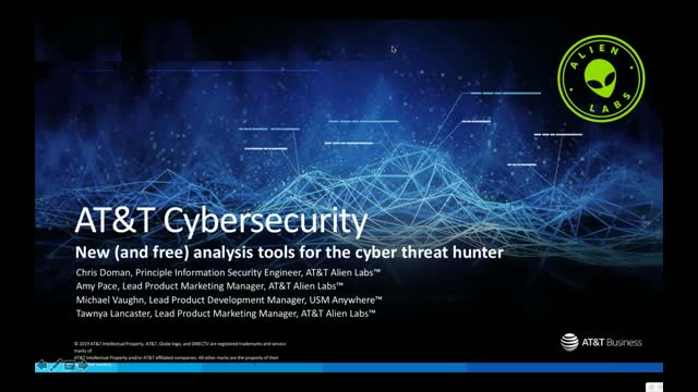 New (and free) analysis tools for the cyber threat hunter