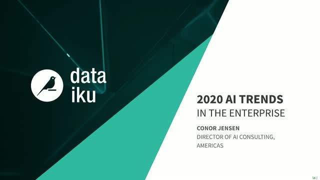 2020 AI Trends in the Enterprise