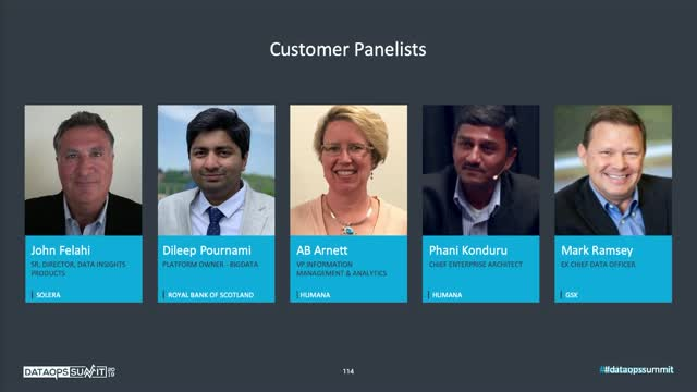 DataOps Panel: How thought leaders are embarking on the DataOps journey