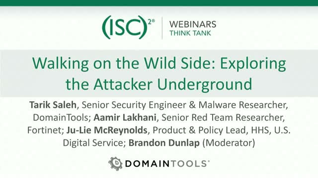 Walking on the Wild Side: Exploring the Attacker Underground