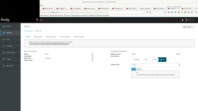 Managing a Red Hat environment with Smart Management (Insights & Satellite)