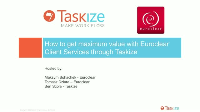 Solving your operational issues more efficiently with Taskize