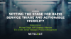Setting the Stage for Rapid Service Triage and Actionable Visibility