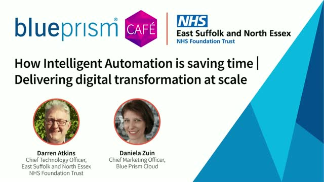 How Intelligent Automation is saving time | Digital transformation at scale