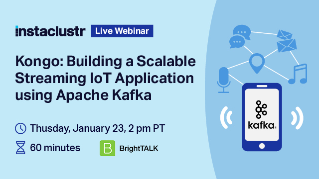 Kongo: Building a Scalable Streaming IoT Application using Apache Kafka