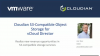 Cloudian S3 Compatible Object Storage for vCloud Director