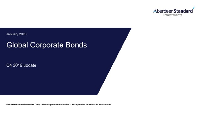 Global Corporate Bond Fund Q4 Update