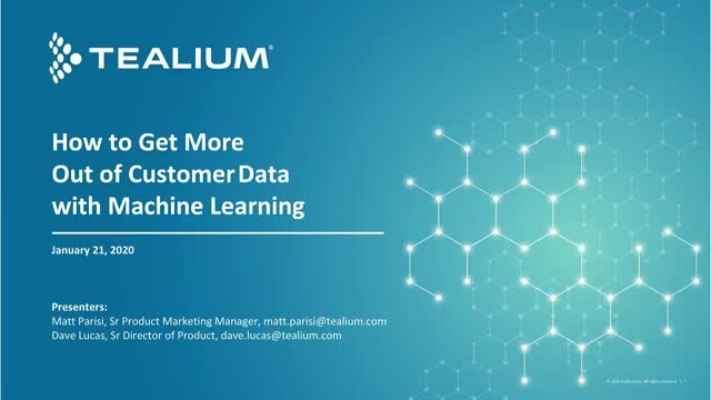 How to Get More Out of Customer Data with Machine Learning
