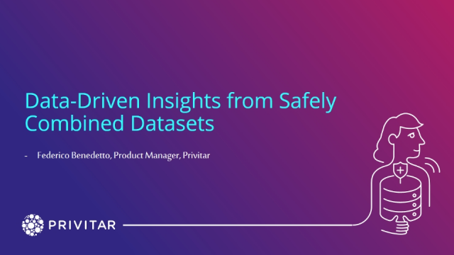Data-Driven Insights from Safely Combined Datasets
