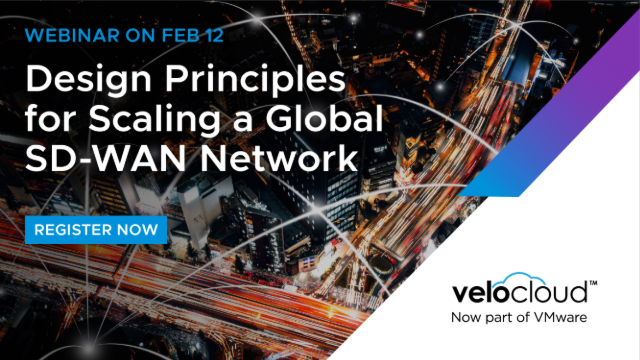 Design Principles for Scaling a Global SD-WAN Network