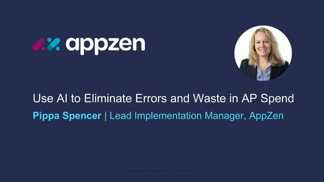 Eliminate errors and waste in AP spend with AI