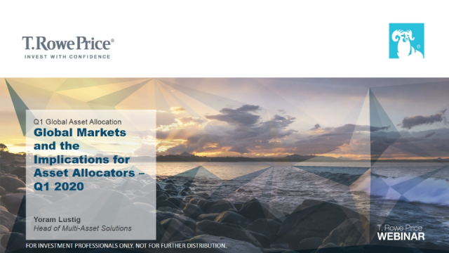 Global Markets and the Implications for Asset Allocators – Q1 2020
