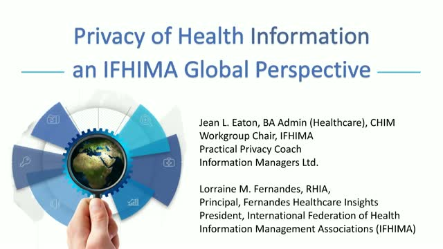 Data Privacy Day - Privacy of Health Information, an IFHIMA Global Perspective