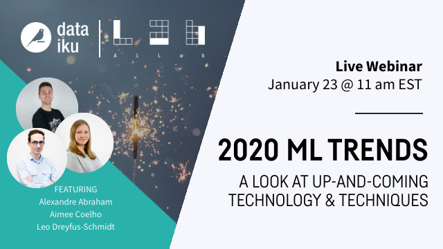 2020 Machine Learning Trends: A Look at Up-and-Coming Technology & Techniques