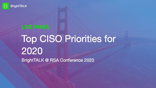 Top CISO Priorities for 2020