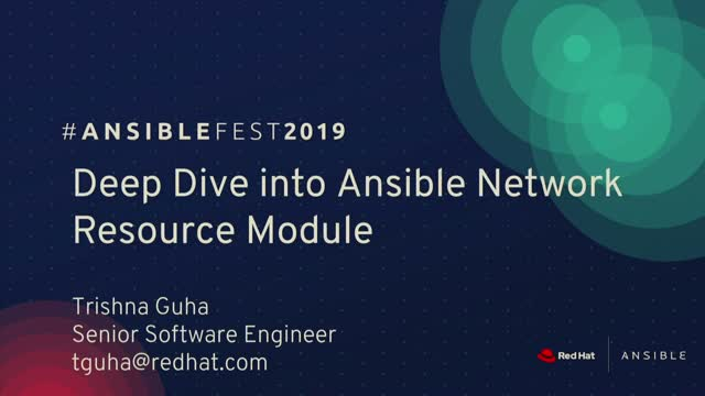 Deep Dive into Ansible Network Resource Module - Network Automation