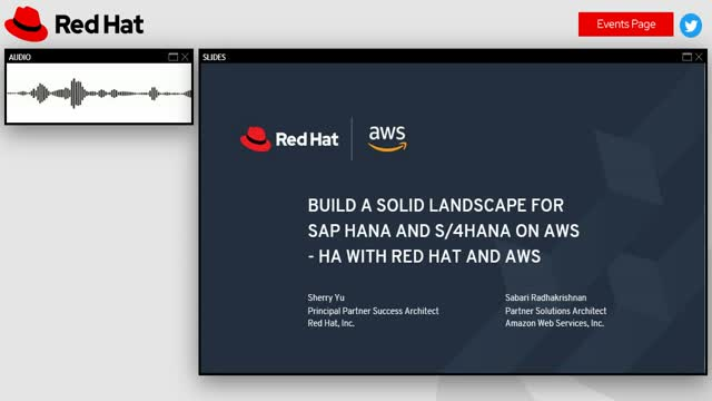 Build a Solid Landscape for SAP HANA and S/4HANA on AWS