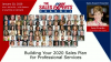 Building Your 2020 Sales Plan for Professional Services