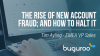 The rise of New Account Fraud and how to halt it