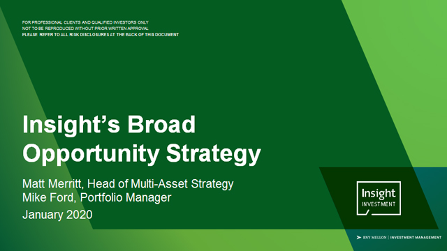 Insight's Broad Opportunities Strategy quarterly update