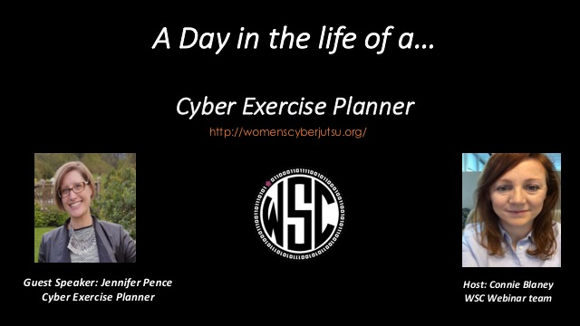 A Day in the life of - A Cyber Exercise Planner