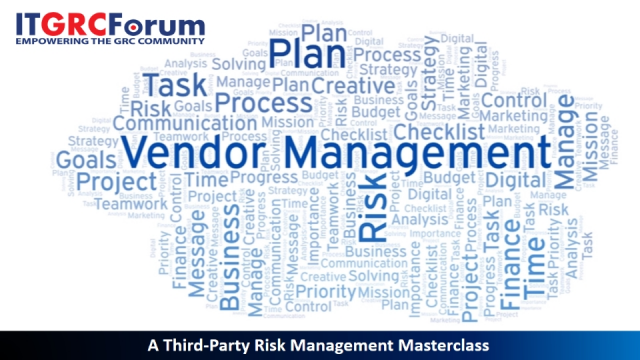 [*CPE] A Third-Party Risk Management Masterclass