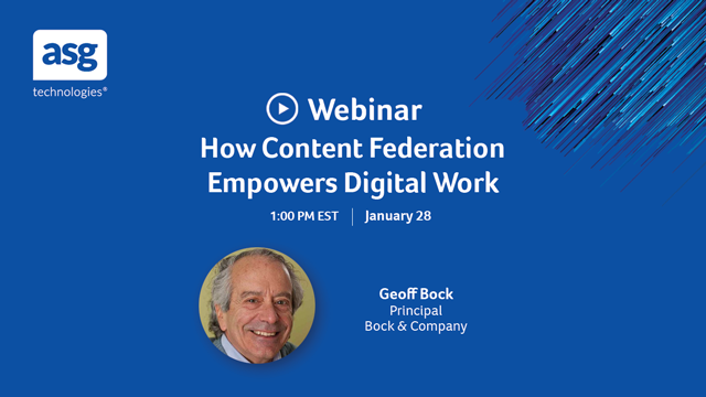 A Guide to How Content Federation Empowers Digital Work